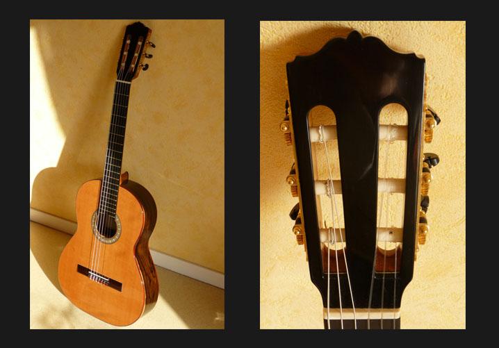 guitare classique manche