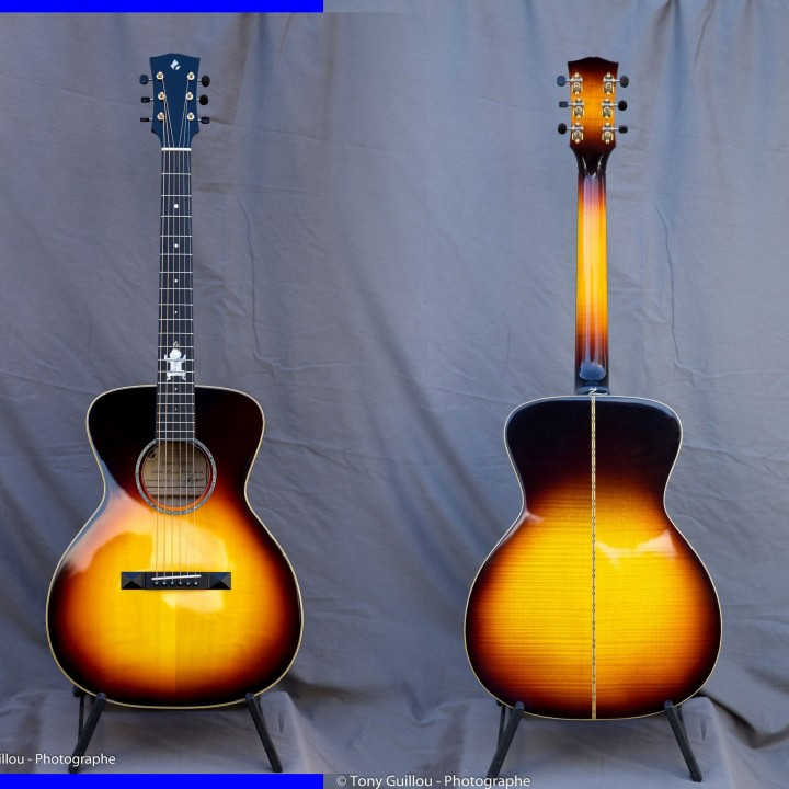 guitare folk OH sunburst
