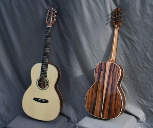 guitare OO ébène de macassar